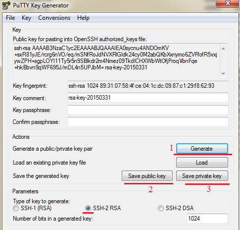 How to generate RSA keys for linux system, CENTOS « PC servis